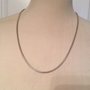 """Jewelry - ⭐️NECKLACE CHAIN STERLING SILVER 925 ITALY 23"""""""